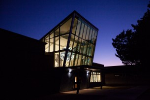 Piner Geospatial Center Nighttime
